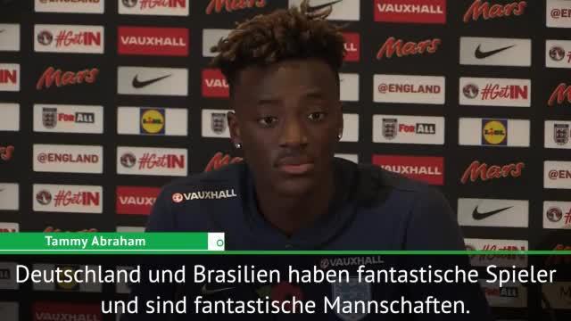 Youngster Abraham mit Respekt vor DFB-Team