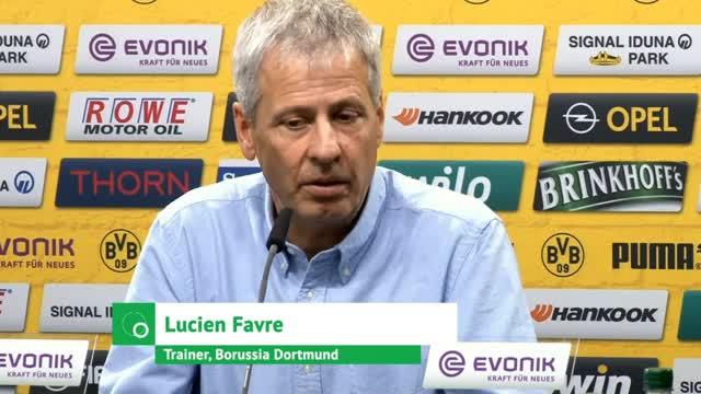 Lucien Favre schwärmt von Sancho und spricht über BVB-Fehler