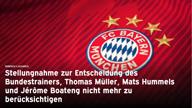 """FCB kontert Löw: """"Irritiert und überrascht"""""""