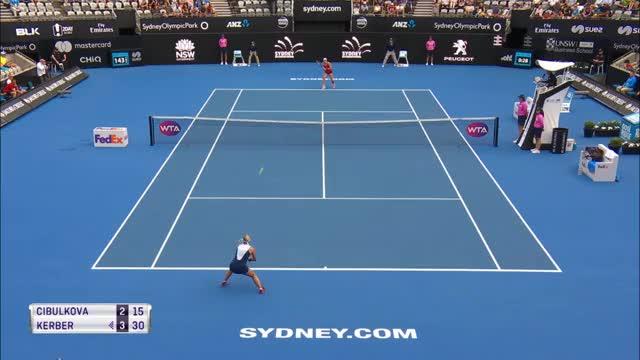 Sydney: Halbfinale! Kerber schlägt Cibulkova
