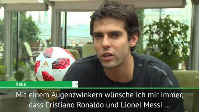 Kaká hofft auf weitere Ronaldo-Messi-Dominanz