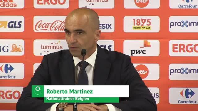 Belgien: Martínez' Sorge um verletzten Kompany