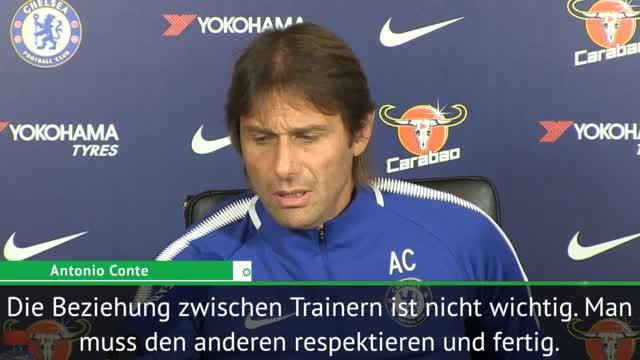 """Conte über Mourinho: """"Muss mich respektieren"""""""