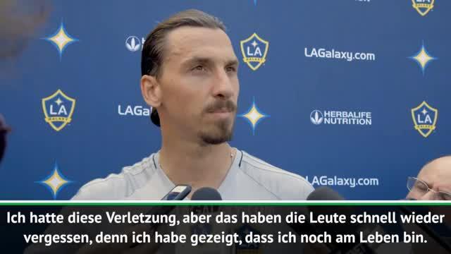 """Zlatan in LA: """"Genießt es, solange ich da bin"""""""