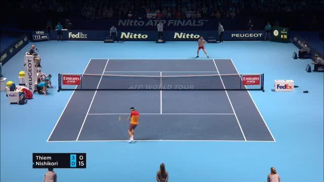 ATP-Finals: Dominic Thiem siegt und fliegt