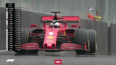 Vettel fliegt der eigene Motor um die Ohren