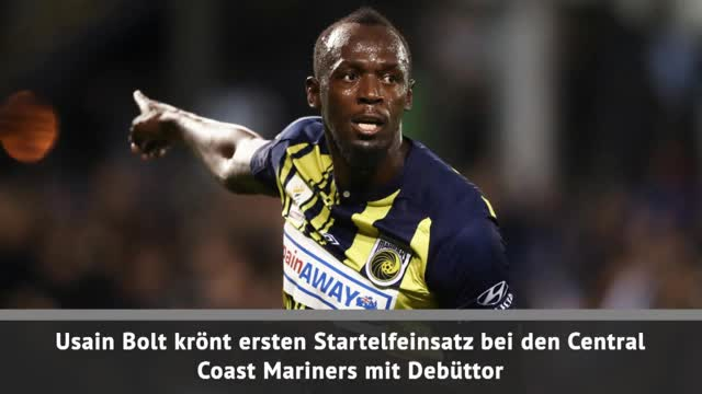 A-League: Usain Bolt mit Debüttor!