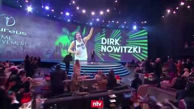 Laureus: Nowitzki für sein Lebenswerk ausgezeichnet