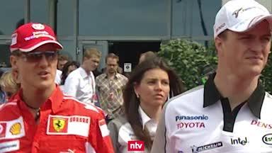 F1 Unvergesslich: Wilder Zoff bei Schumachers