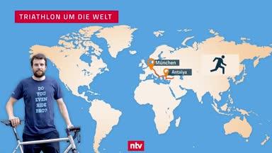 """""""Triathlon um die Welt"""" mit großen Hindernissen"""