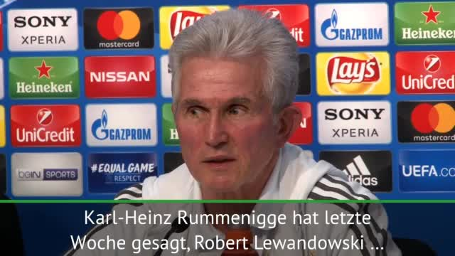 "Heynckes: Lewandowski zu Real? ""Keine Chance"""