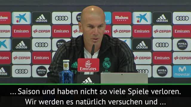 "Zidane: Villarreal ""Aufmerksamkeit widmen"""