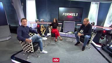 Florian König zeigt das neue Formel-1-Studio von RTL