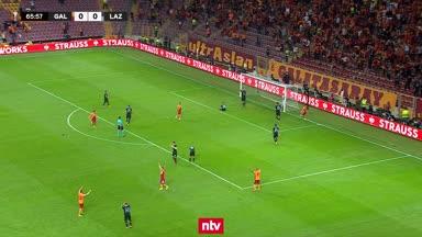 Eigentor entscheidet Galatasaray vs. Lazio
