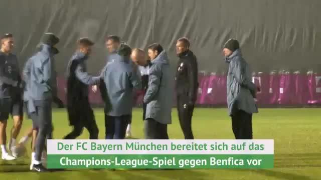 Vor Benfica: Stürmische Zeiten beim FC Bayern