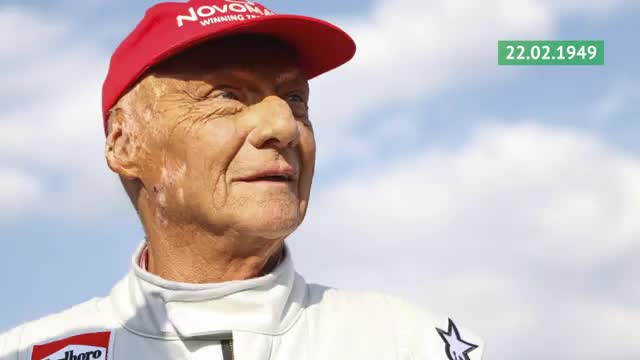 Born This Day: F1-Legende Niki Lauda wird 70