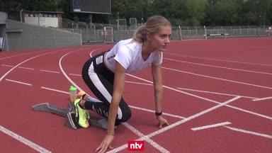 Schön und schnell! Alica Schmidt beeindruckt auf der Bahn