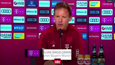 """Nagelsmann-PK zum Pokal: """"Wir kennen einige Spieler"""""""