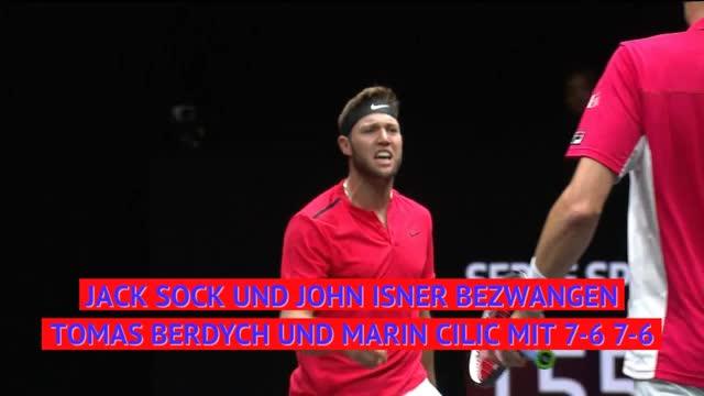 Laver Cup: Europa siegt dank Zverev und Federer