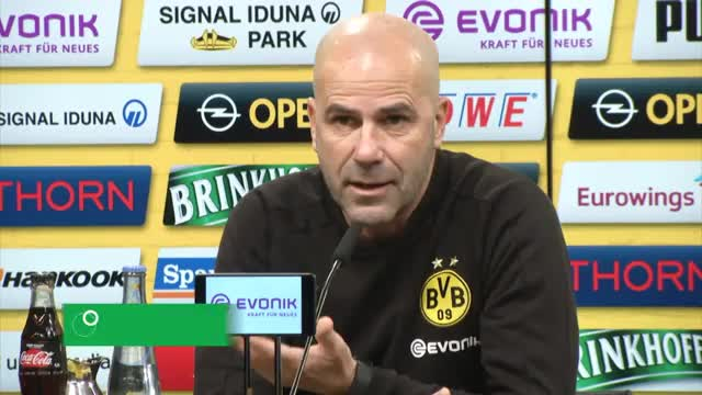 """BVB-Coach Bosz: Derby """"war ein großer Schock"""""""