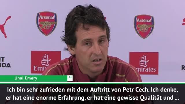 Emery vor Chelsea: Cech wieder die Eins vor Leno
