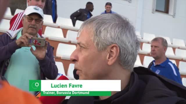 """Favre nach Sieg über Düsseldorf """"relativ zufrieden"""""""