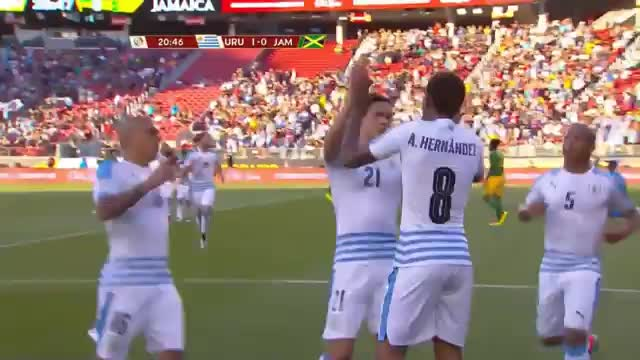 Copa America: Uruguay schießt Jamaika ab