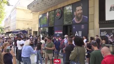 Trikot-Hype und mehr: Messi-Mania in Paris!