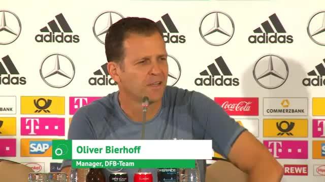 """Bierhoff: """"Aussprache war enorm wichtig"""""""