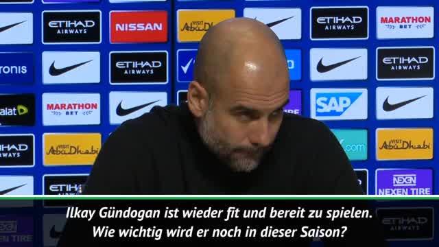 """Guardiola zu Gündogan: """"Er weiß, was wir wollen"""""""
