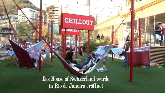 House of Switzerland: Ein Stück Schweiz in Rio