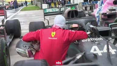 Emotional! Vettel beglückwünscht Weltmeister Hamilton
