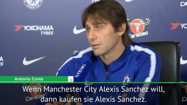Conte: Sanchez? Wenn City will, dann können sie