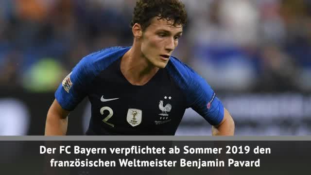 Pavard-Wechsel zum FC Bayern fix