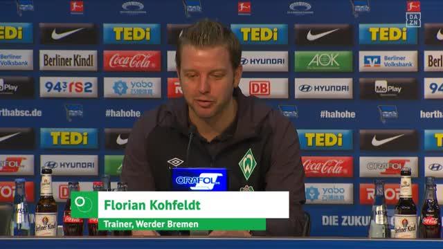 """""""Top!"""" Kohfeldt über Pizarros Senior-Tor-Rekord"""