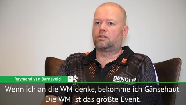 Darts: Van Barneveld: WM-Gedanke? Gänsehaut!