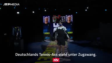 Zverev liefert: Halbfinal-Chance lebt dank Zittersieg