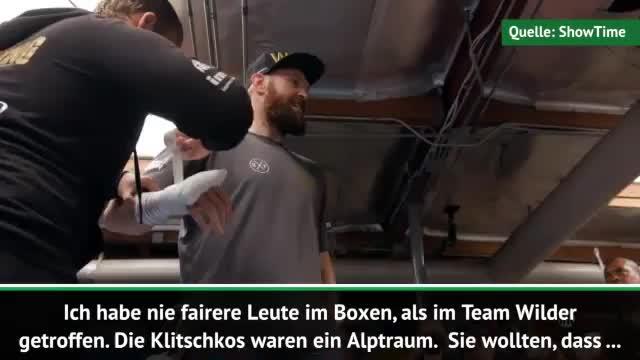 """Boxen: Fury: """"Klitschkos waren ein Alptraum"""""""