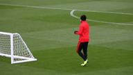 Vor Liverpool: Neymar und Mbappe im Training