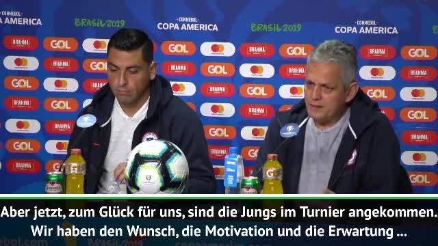 Rueda: Chile mit Ehrgeiz und Hingabe ins Finale