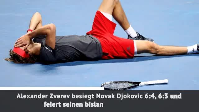 ATP-Finals: Zverev krönt sich zum Weltmeister