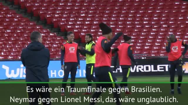 Sampaoli-Wunschfinale: Messi vs. Neymar