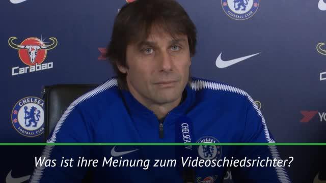 """Conte: Videoschiedsrichter? """"Gute Möglichkeit"""""""