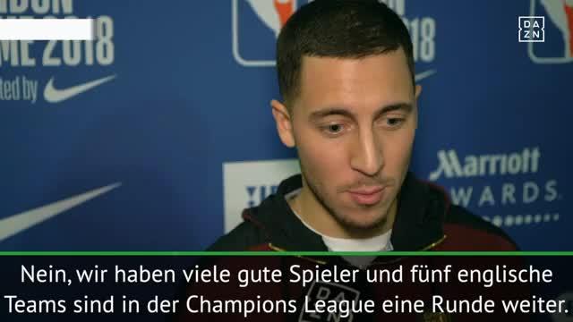 """Hazard ehrgeizig: """"Mit Chelsea die CL gewinnen"""""""