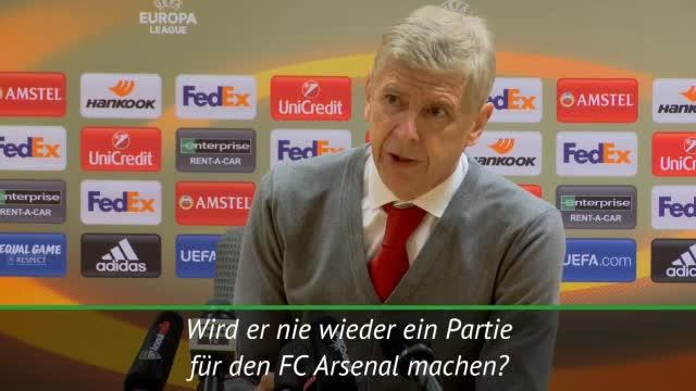 Wenger geht Mertesacker-Frage aus dem Weg