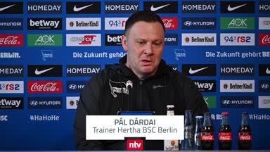 """""""Drastische Umänderung"""": Dárdai deckt Herthas Probleme auf"""