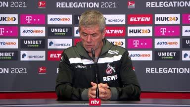 Ist der 1. FC Köln schon abgestiegen, Herr Funkel?