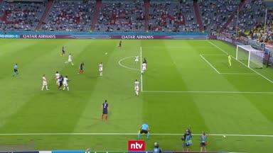 Deutschland vs. Frankreich: Die Highlights im Video