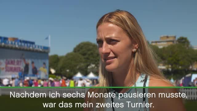 "Birmingham: Kvitova: ""Bin total überrascht"""