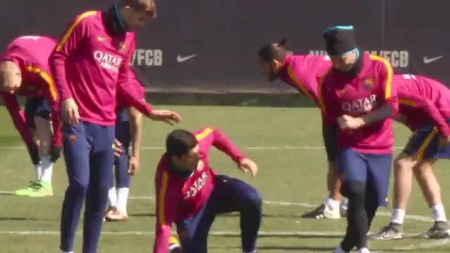 Nicht witzig! Mascherano provoziert Suarez